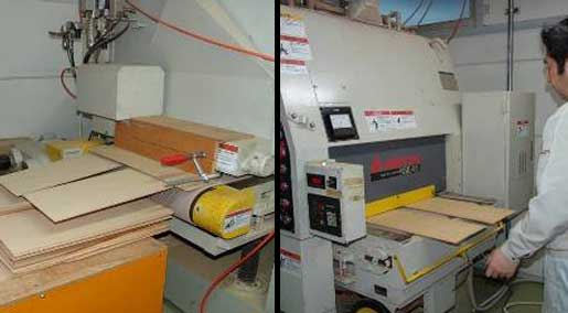 Wide Sanding Machine