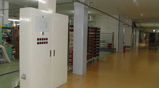 Underground Heating System has been introduced into the entire of the building